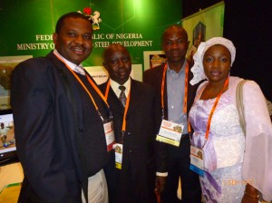 Frank with Nigerian Delegates @ DownUnder 2011