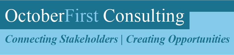 OctoberFirst Consulting. Connecting Australian and African stakeholders