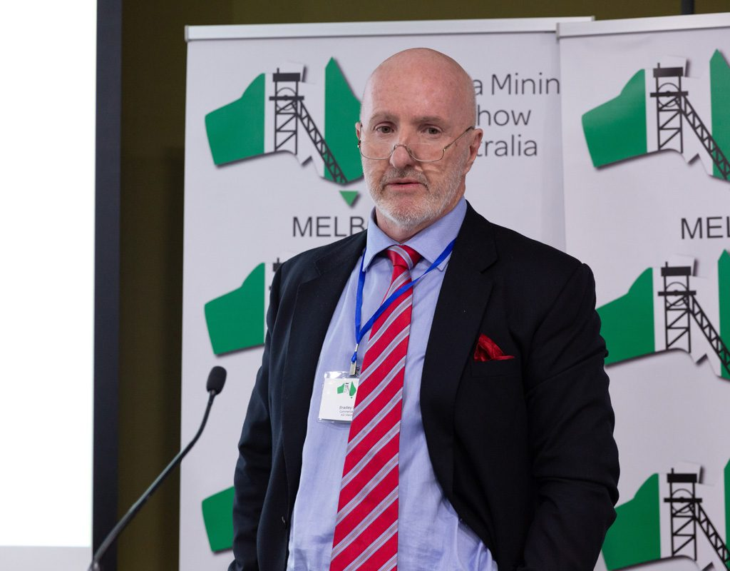 Mr Bradley George: Commercial Director, AG Vision Mining