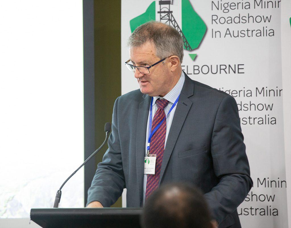 Amb Jon Richardson: Senior Adviser, African Geopolitics (Former Australia High Commissioner To Nigeria.