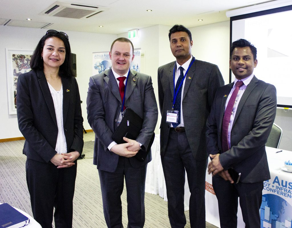 Delegates From Mauritius